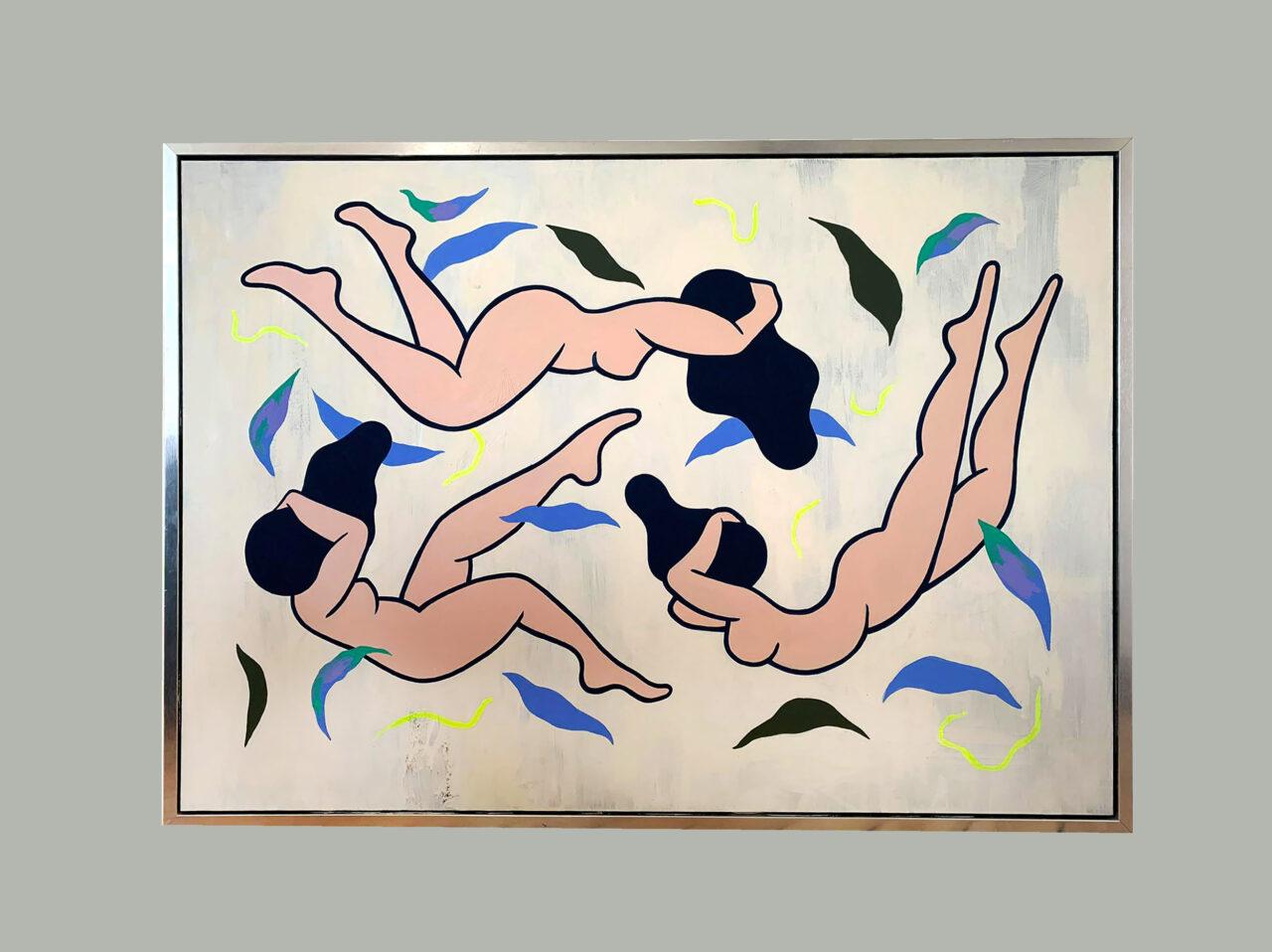 Acrylic on canvas, 100 x 80 cm, 2020