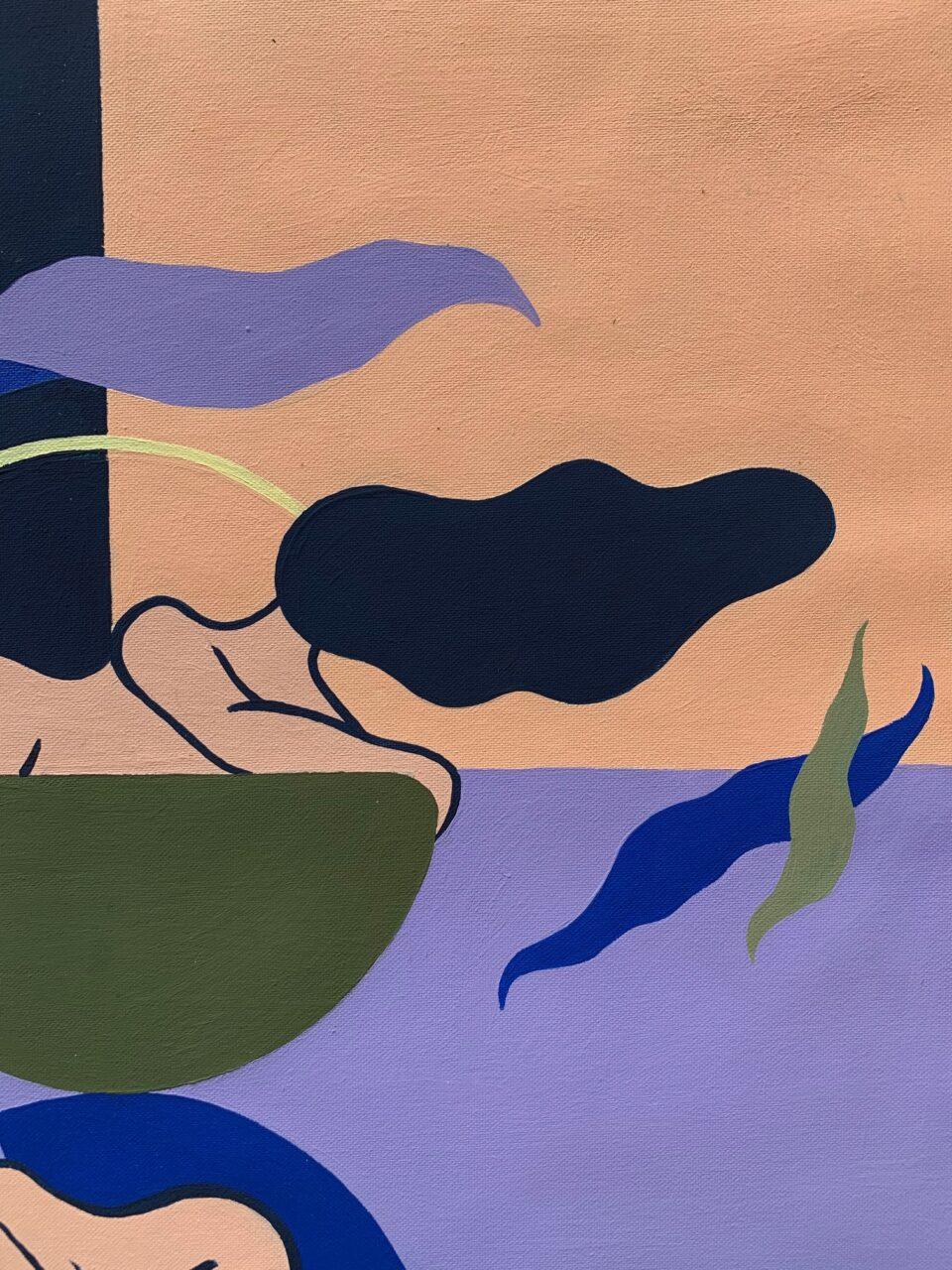 Acrylic on canvas, 61 x 41 cm, 2020