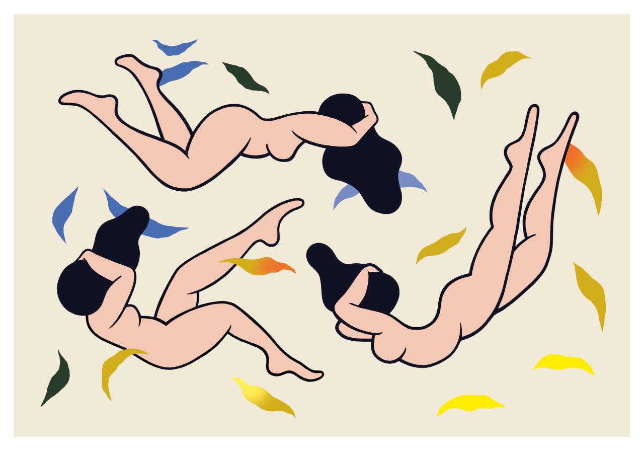 """""""Gravity fall"""" print clara duflos"""