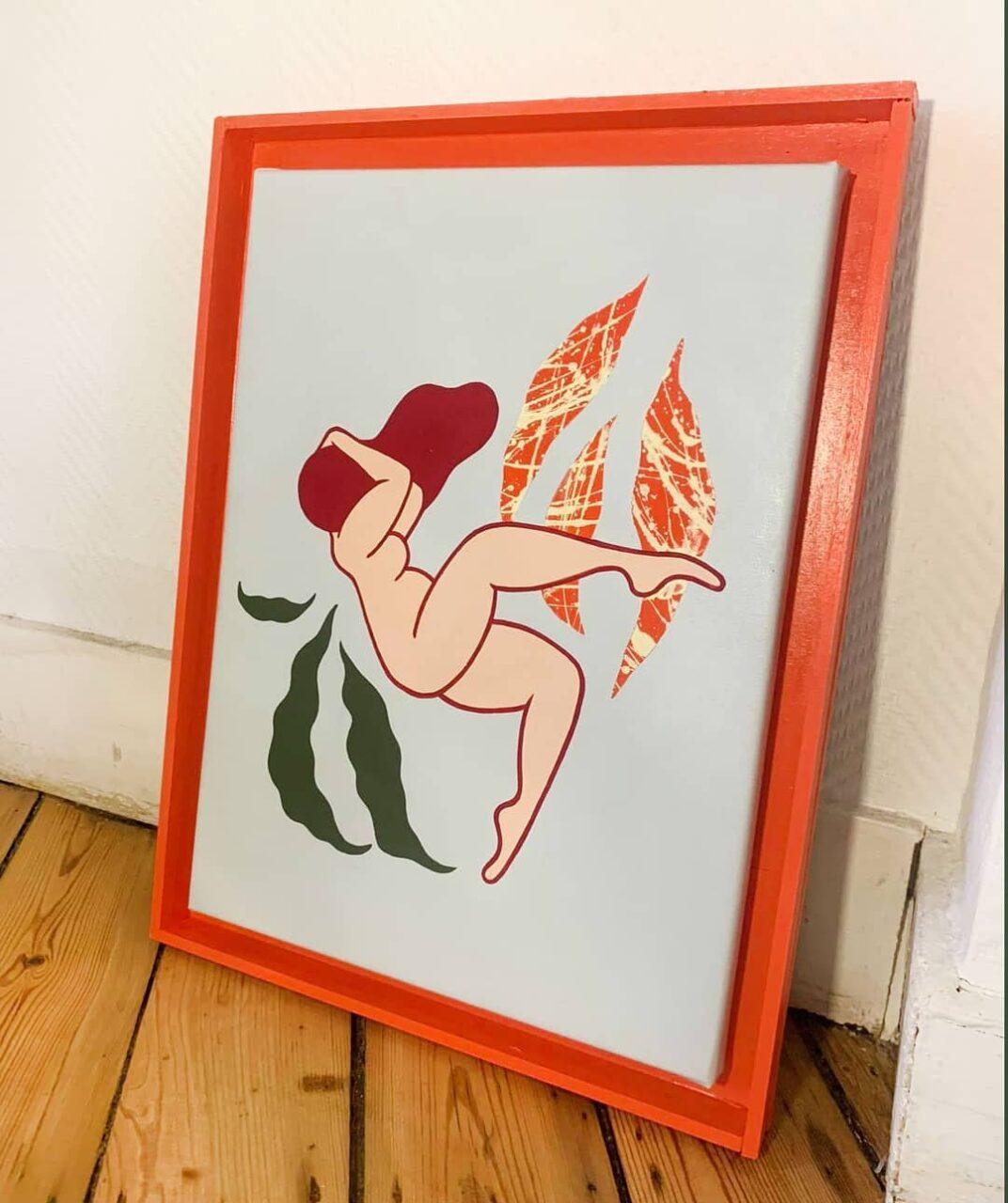 acrylic on canvas, 30 x 40 cm, 2021